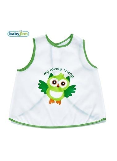 Baby Jem Yeni Poli Muşamba Önlük Bebek Hardal